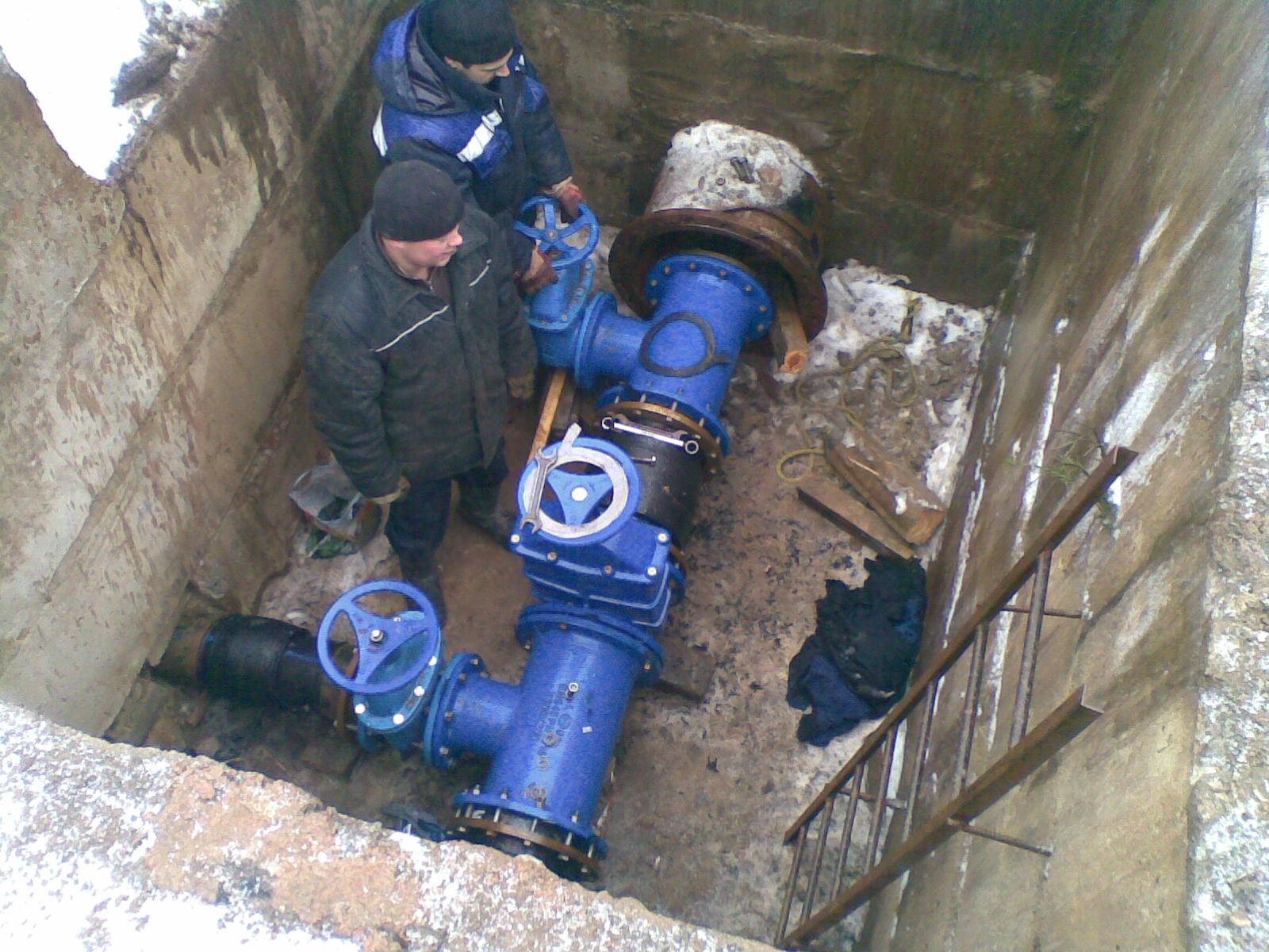 Ремонт водопроводных сетей