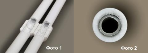 Сварные соединения на металлопластике PERT/AL/PERT