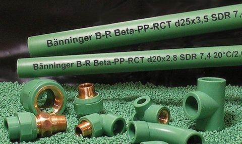 Трубы для водоснабжения полипропиленовые с рабочей температурой 20 градусов — недорогое решение для монтажа системы ХВС
