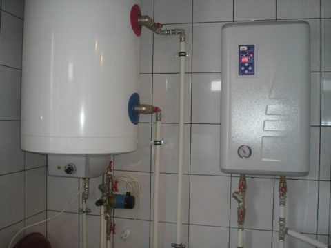 Целевая температура теплоносителя в системе отопления — 65 градусов
