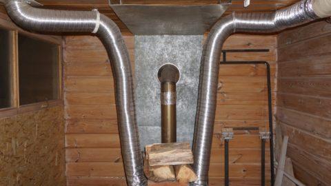 Воздуховоды воздушного отопления разводятся при строительстве или капремонте дома
