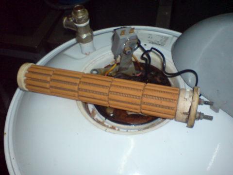 Замена сухого ТЭНа электрического бойлера