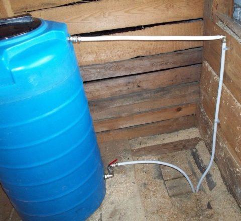Запас воды ограничен прочностью перекрытий