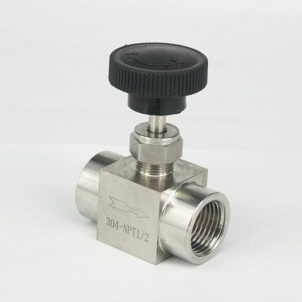 Игольчатый дросселирующий клапан размером 1/2 дюйма