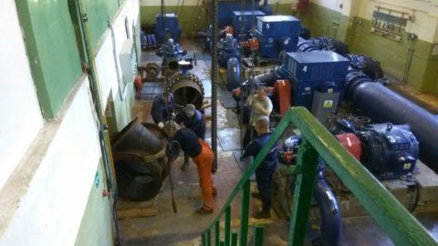 Насосная станция должна справляться с пиками расхода воды
