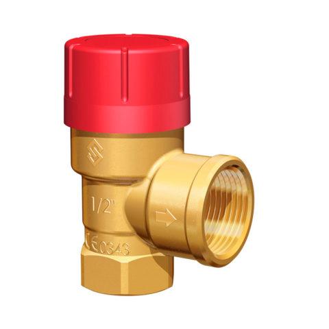 Предохранительный клапан с отводом воды в дренаж