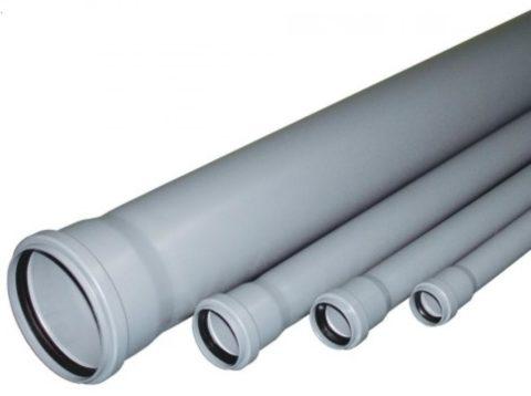 Трубы ПВХ диаметром 110 мм
