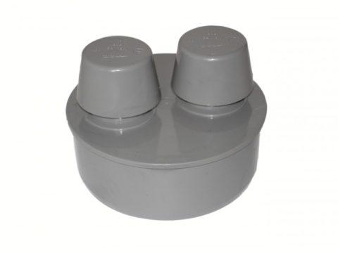 Вакуумный клапан подсасывает воздух при разрежении в стояке