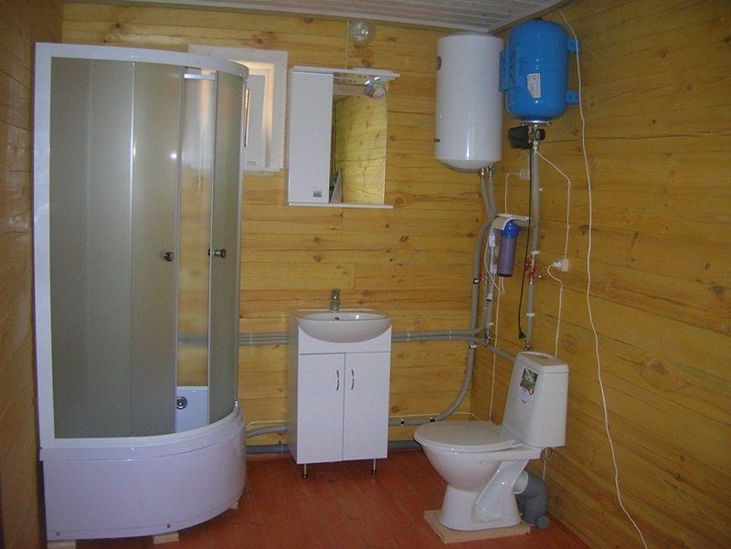 Как сделать благоустроенный туалет в частном доме своими руками фото 14