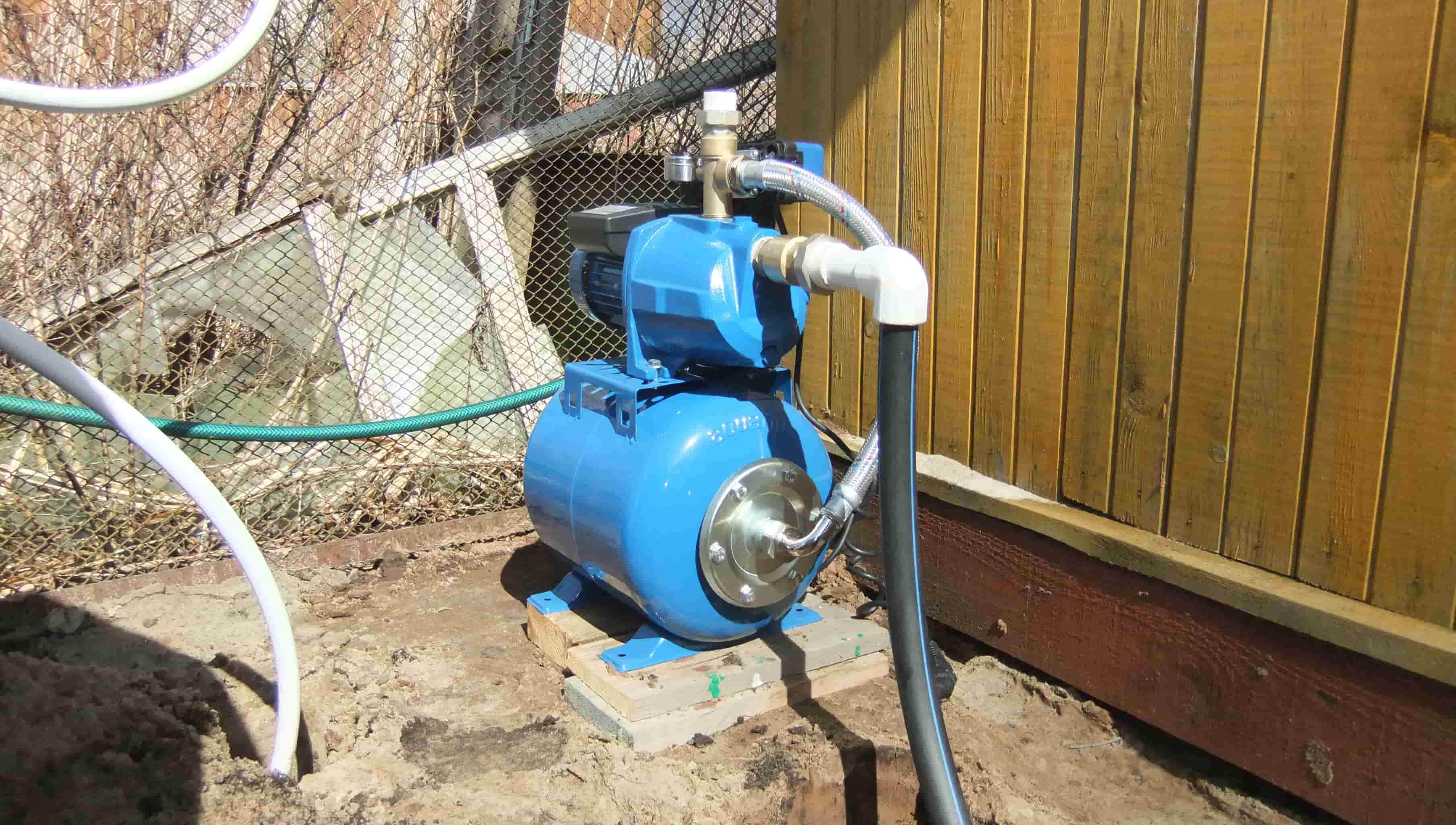 Насос для водопровода своими руками 282