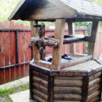 Резной ворот