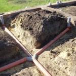 Автономная канализация в частном доме: все отводы ведут к одной трубе