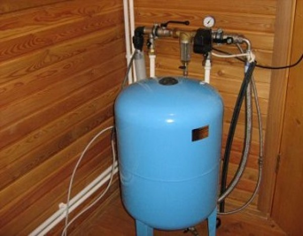 Схема водоснабжения частного дома с гидроаккумулятором фото 145