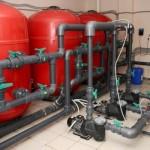 Система очистки и рециркуляции воды в бассейне