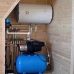 Технический узел системы водоснабжения в сборе