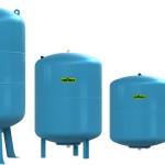 Гидроаккумулятор для водоснабжения reflex: ассортимент объёмов