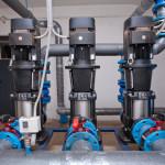 Повысительная станция с гидробаком в производственной системе водоснабжения
