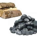 Традиционное топливо: уголь и дрова