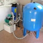 Водоснабжение частного дома из скважины с гидроаккумулятором