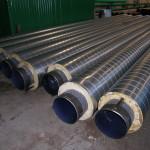 Заводская изоляция трубопроводов водоснабжения