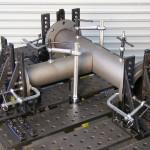 Стол для сборки и сварки фасонных деталей трубопроводов