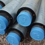 Вариант комбинированного покрытия: утеплитель, закрытый алюминиевой лентой