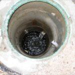 Дренажный колодец ливневой канализации