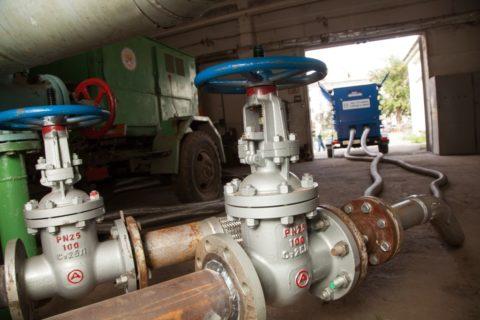 Пневматическая опрессовка магистрали водоснабжения