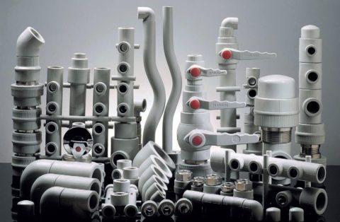 Полимерные трубы и фитинги