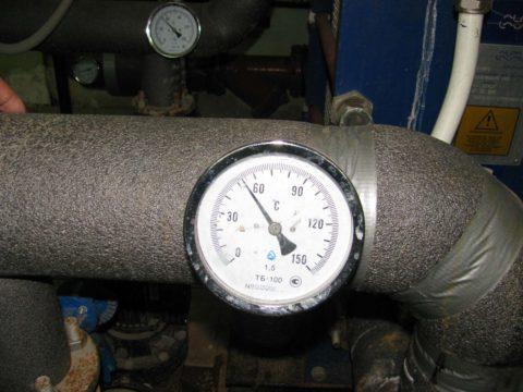Типичная температура ГВС в частном доме