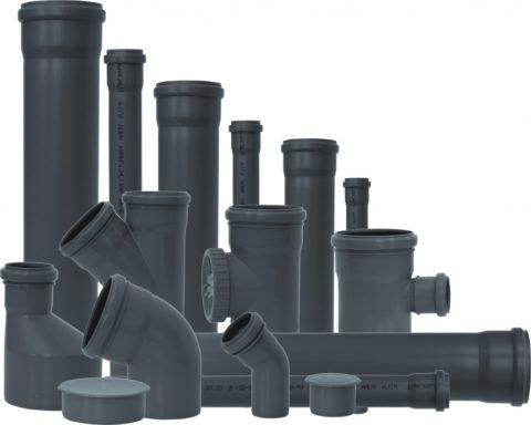 Трубы и фасонина для канализации из полипропилена