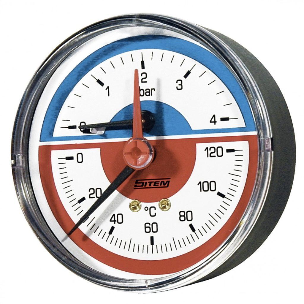 Термоманометр для отопления