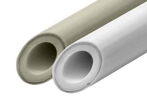 Армирование труб PPR алюминием