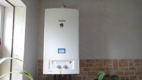 Газовый котел с подключением к системе ГВС