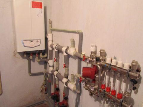 Котельная в системе автономного отопления