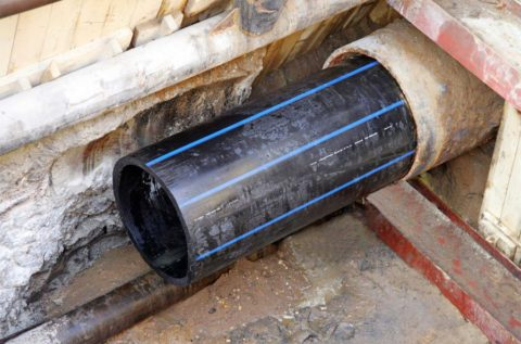 Реконструкция изношенного водопровода