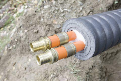 Теплоизоляция водопроводов ХВС и ГВС