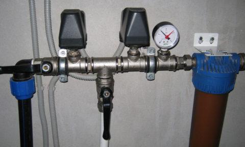 Типичное давление на водоснабжении