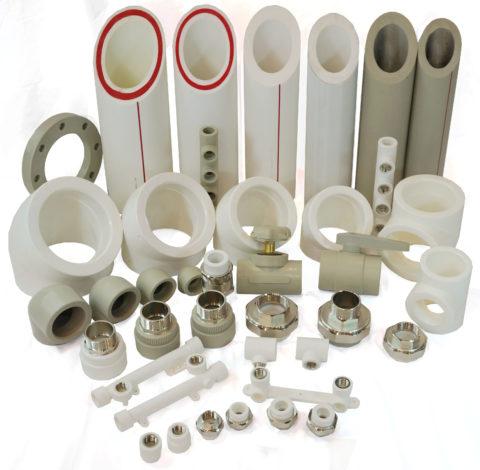 Трубы с фитингами PPR
