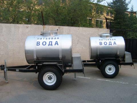 Цистерны для доставки воды