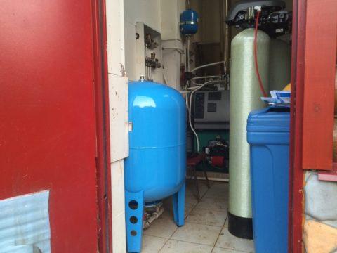 Емкий мембранный бак обеспечит дом водой при ее кратковременных отключениях