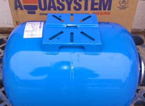 Еще один образец качественной продукции — гидроаккумуляторы для систем водоснабжения Aquasystem