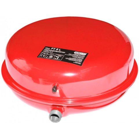 Гидроаккумулятор для системы водоснабжения настенный объемом 8 литров