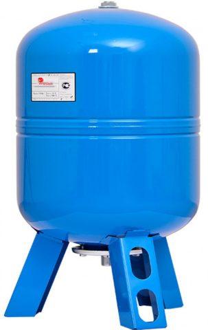 Гидроаккумулятор Wester WAV 100 на практике вмещает не больше 60 литров воды