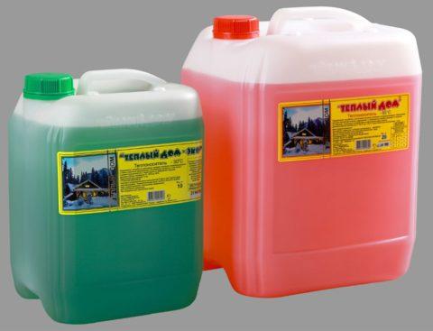 Препятствующие замерзанию воды добавки на основе пропиленгликоля