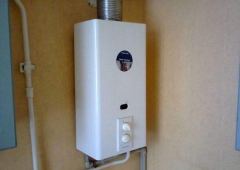 Проточный газовый нагреватель (колонка или двухконтурный котел)