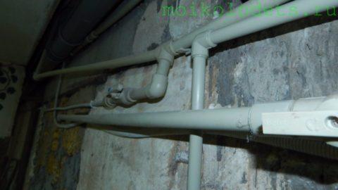 Разводка воды в доме автора выполнена полипропиленовыми трубами