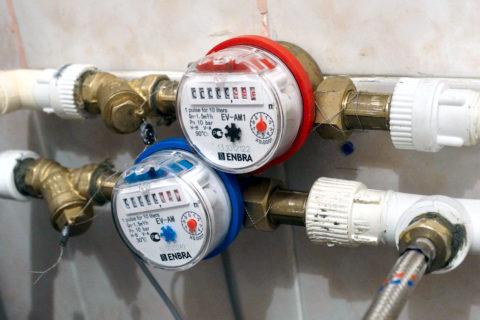 Счетчик регистрирует расход воды независимо от ее температуры