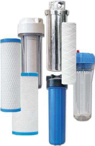 Сменные картриджи для систем очистки воды