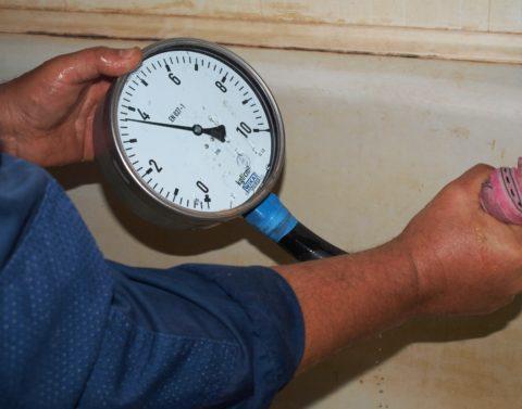 Типичное давление в водопроводе ХВС
